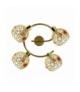 LAMPA ARON SPIRALA 4X40W G9 MOSIĄDZ KRYSZTAŁ CZERWONY Candellux 98-12258