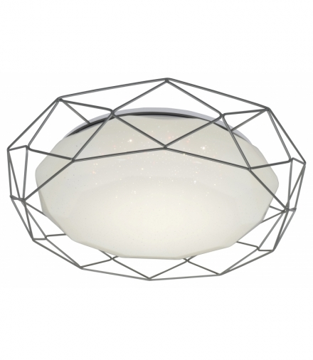 LAMPA SVEN PLAFON 43 24W LED 4000K SZARY Candellux 98-73228
