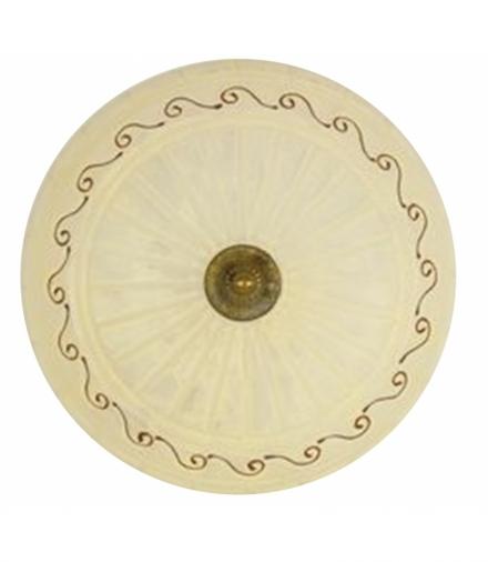 LAMPA PLAFON BRUS 40 2X60W E27 Candellux SB-3846