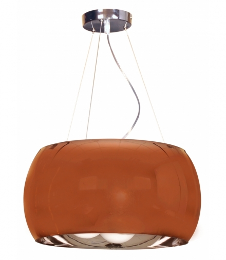 GEMO LAMPA WISZĄCA 40 3X40W G9 SZKLANY ZŁOTY Candellux 31-29089