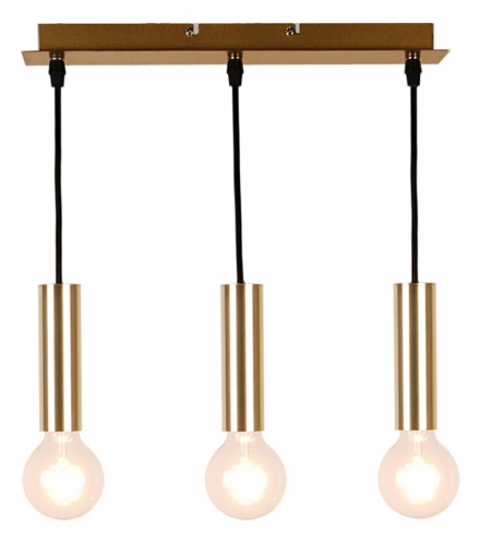 LAMPA WISZĄCA DALLAS 142 MM 3 ZŁOTY Candellux 50103035