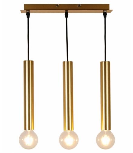 LAMPA WISZĄCA DALLAS 284 MM 3 ZŁOTY Candellux 50103037