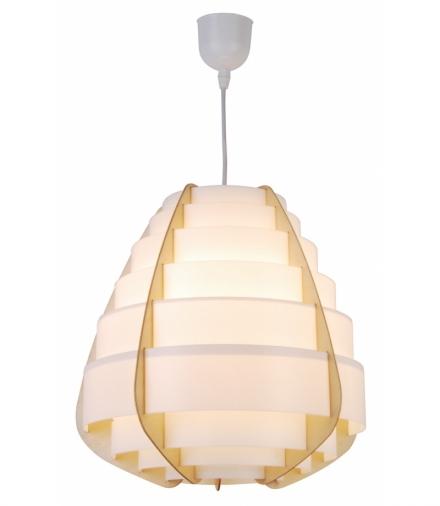 LAMPA WISZĄCA NAGOJA 1 BEŻOWY Candellux 50101038