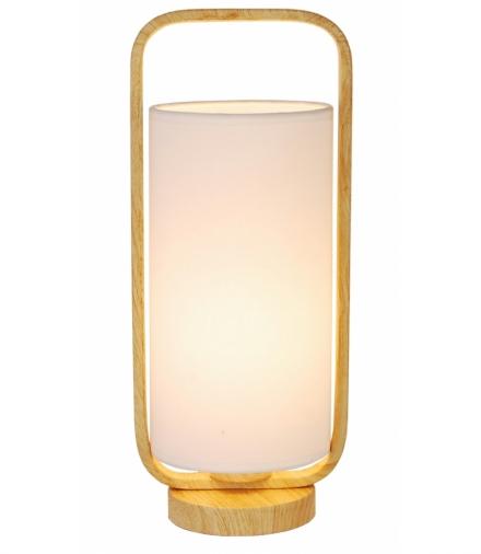 LAMPA STOŁOWA ISUMI 1 JASNE DREWNO 34x14,5x14,5 Candellux 50501044