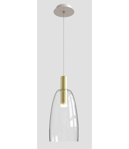 LAMPA WISZĄCA MODENA 1 ZŁOTY 140x14,5x14,5 Candellux 50133067