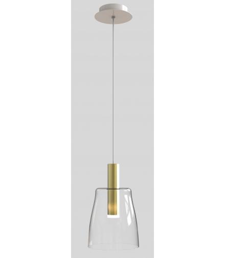 LAMPA WISZĄCA MODENA 1 ZŁOTY 140x15x15 Candellux 50133069