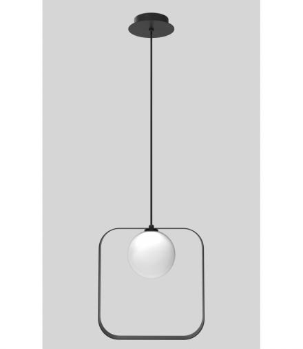 LAMPA WISZĄCA TULA 1 CZARNY 140x12x26 Candellux 50101074
