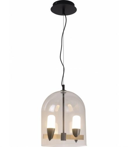 LAMPA WISZĄCA SAKAI 2 CZARNY ZŁOTY Candellux 50233075