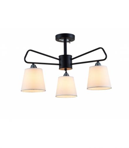 LAMPA WISZĄCA MORLEY 3 CZARNY Candellux 50203091