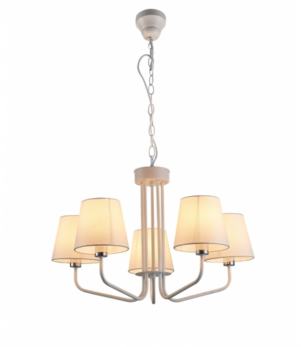 LAMPA WISZĄCA YORK 5 BIAŁY Candellux 50205095
