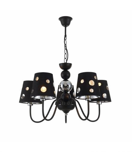 LAMPA WISZĄCA BATLEY 5 CZARNY Candellux 50205106
