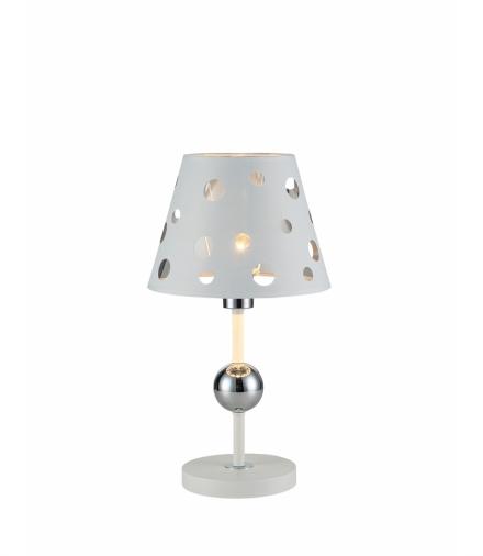 LAMPA STOŁOWA BATLEY 1 BIAŁY Candellux 50501111