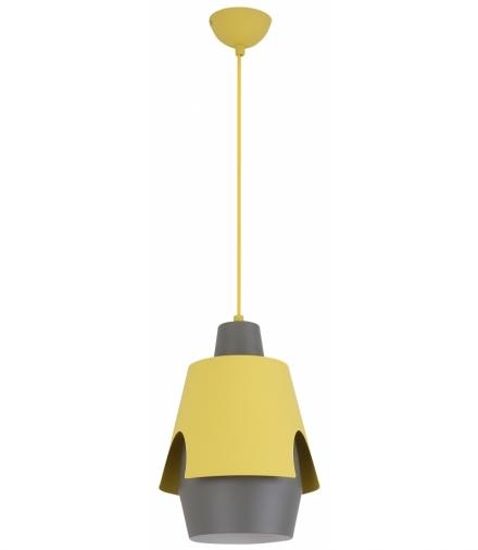 LAMPA WISZĄCA FALUN 1 ŻÓŁTY Candellux 50101149