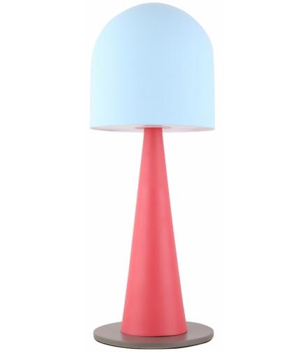 LAMPA STOŁOWA VISBY 1 NIEBIESKI CZERWONY Candellux 50501163