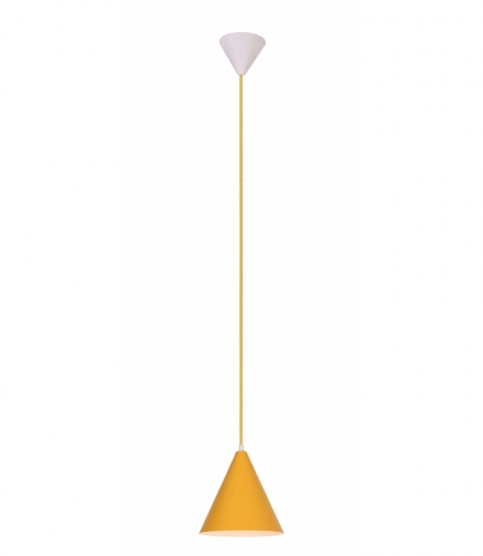LAMPA WISZĄCA VOSS 1 ŻÓŁTY Candellux 50101179