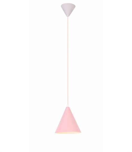 LAMPA WISZĄCA VOSS 1 RÓŻOWY Candellux 50101180