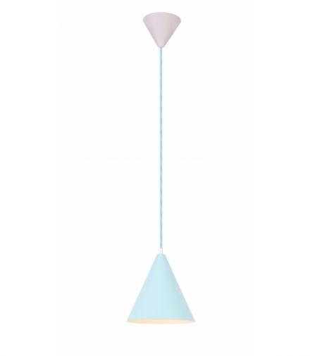 LAMPA WISZĄCA VOSS 1 NIEBIESKI Candellux 50101182
