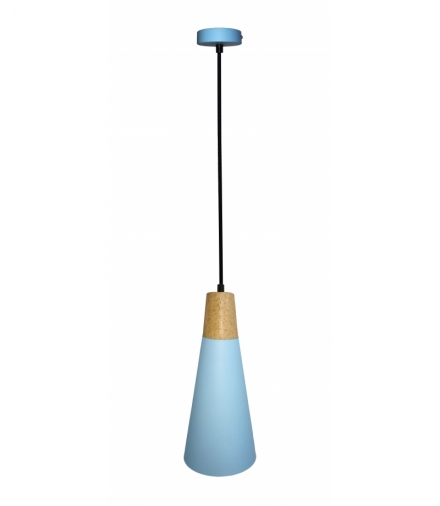 LAMPA WISZĄCA FARO 1 NIEBIESKI Candellux 50101258