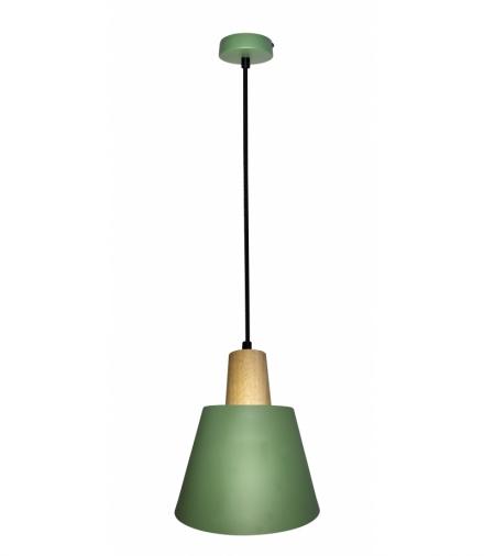 LAMPA WISZĄCA FARO 1 ZIELONY Candellux 50101260