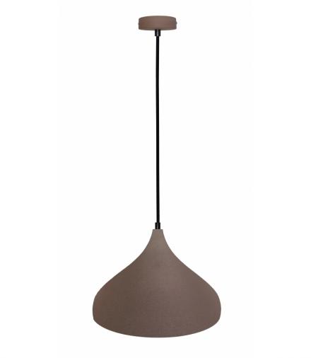 LAMPA WISZĄCA VIBORG 320mm 1 BRĄZOWY Candellux 50101270