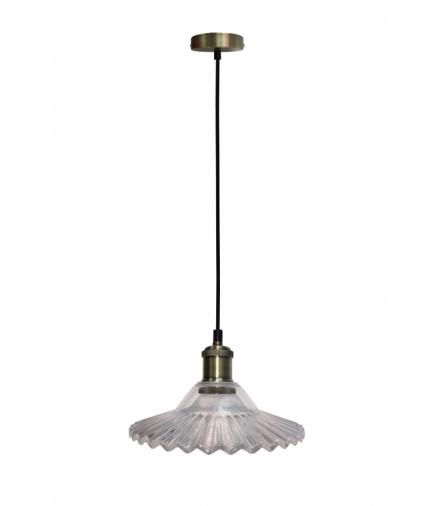 LAMPA WISZĄCA GENEVA 1 BEZBARWNY Candellux 50101273