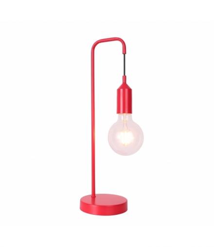 LAMPA STOŁOWA LAREN 1 CZERWONY Candellux 50501195