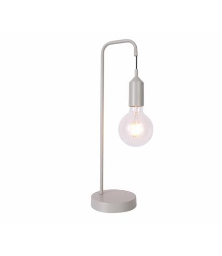 LAMPA STOŁOWA LAREN 1 SZARY Candellux 50501196