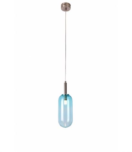 LAMPA WISZĄCA FIUGGI 1 NIEBIESKI Candellux 50133213