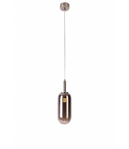 LAMPA WISZĄCA FIUGGI 1 SREBRNY Candellux 50133214