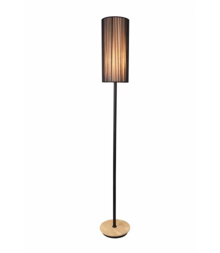 LAMPA PODŁOGOWA KIOTO 1 CZARNY Candellux 50601216