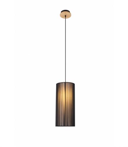 LAMPA WISZĄCA KIOTO 1 CZARNY 130x18x18 Candellux 50101217