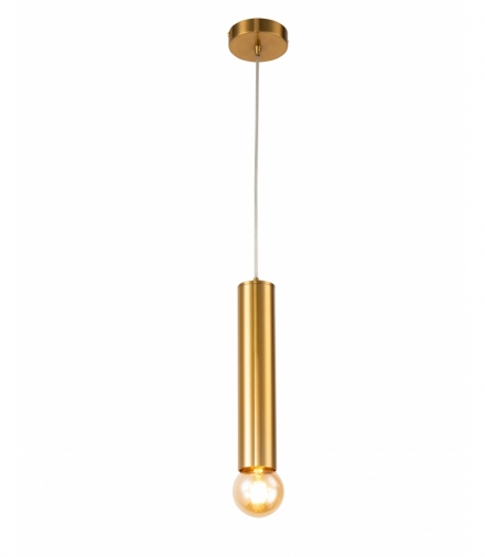 LAMPA WISZĄCA AUSTIN SLIM 300 mm 1 ZŁOTY Candellux 50101230