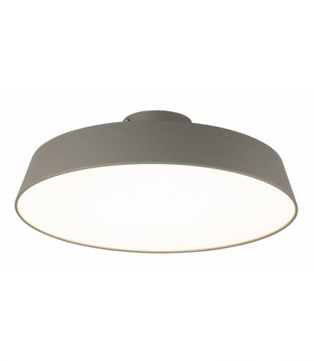 LAMPA SUFITOWA ORLANDO 1 SATYNOWY SZARY Candellux 50133239