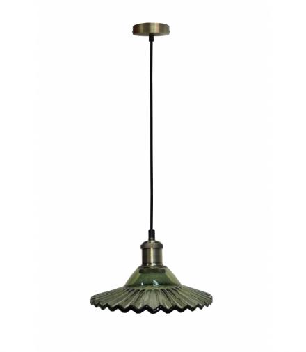 LAMPA WISZĄCA GENEVA 1 ZIELONY Candellux 50101274