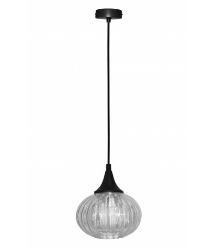 LAMPA WISZĄCA EXETER 145mm 1 CZARNY Candellux 50101275