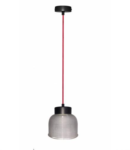 LAMPA WISZĄCA LIVERPOOL I 1 CZERWONY 90x14,5x0 Candellux 50101287