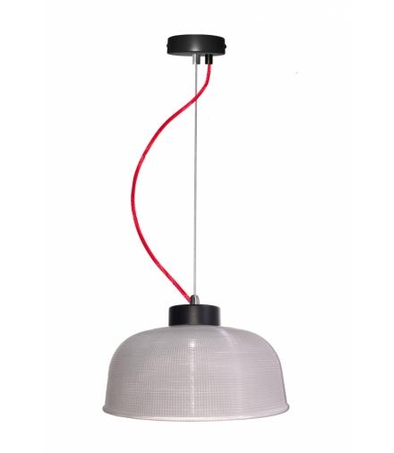 LAMPA WISZĄCA LIVERPOOL II 1 CZERWONY90x26,5x0 Candellux 50101288