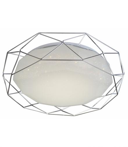 LAMPA PLAFON SVEN 43 24W LED 4000K CHROM Candellux 98-73211