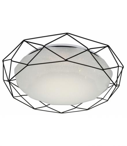 LAMPA PLAFON SVEN 43 24W LED 4000K CZARNY Candellux 98-73167