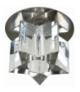 SK-22 CH G4 CHROM OPR. STROP. STAŁA KRYSZTAŁ 20W G4 GWIAZDA Candellux 2281974