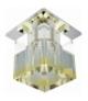 SK-19 CH/YE-P G4 CHROM OPR. STROP. STAŁA KRYSZTAŁ 20W G4 ŻÓŁTY PASEK Candellux 2279797