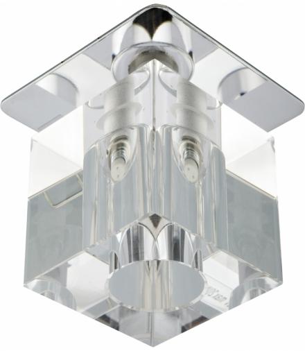 SK-18 CH/WH G4 CHROM OPR. STROP. STAŁA KRYSZTAŁ 20W G4 TRANSPARENTNA Candellux 2280151