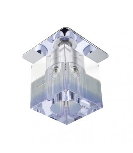 SK-18 CH/PU-P G4 CHROM OPR. STROP. STAŁA KRYSZTAŁ 20W G4 FIOLETOWY PASEK Candellux 2280144
