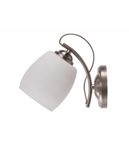 AMBA LAMPA KINKIET 1X40W E27 BIAŁY Candellux 21-77028