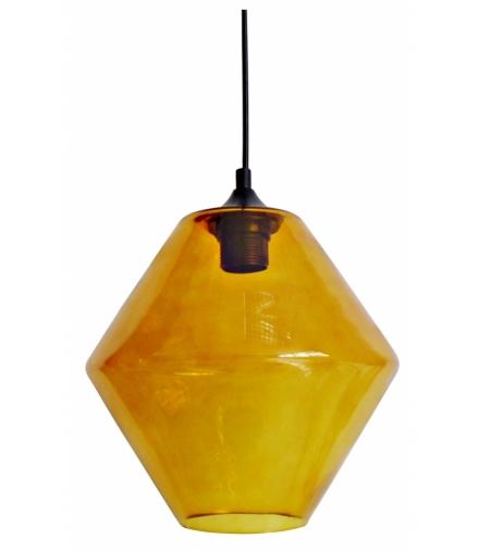 LAMPA WISZĄCA BREMEN 20 1X60W E27 KLOSZ POMARAŃCZOWY Candellux 31-36223-Z