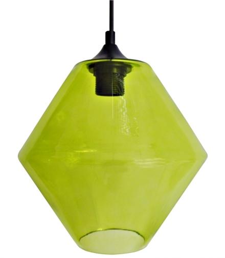 LAMPA WISZĄCA BREMEN 20 1X60W E27 KLOSZ ZIELONY Candellux 31-36353-Z