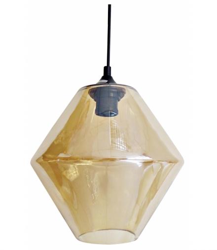LAMPA WISZĄCA BREMEN 20 1X60W E 27 KLOSZ DYMIONY Candellux 31-36636-Z
