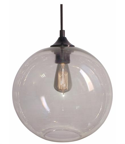 LAMPA WISZĄCA EDISON 25 1X60W E27 TRANSPARENTNY Candellux 31-21403-Z