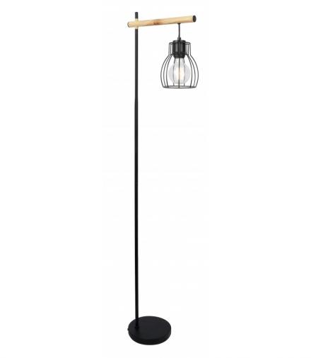BERNITA LAMPA PODŁOGOWA 1X60W E27CZARNY Candellux 51-78766
