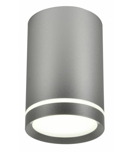 TUBA LAMPA SUFITOWA 1X15W GU10 6,8/10 SREBRNY MATOWY Candellux 2277158